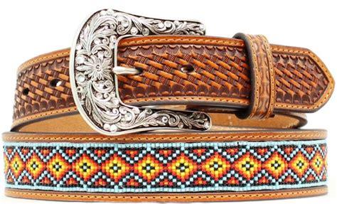 beaded belts western mfwn2410408 s western beaded belt 1 1 2 wide