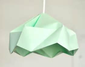 origami light shade snowflake origami paper l shade lantern mint