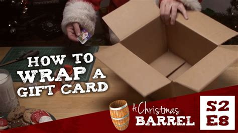 how to card how to wrap a gift card
