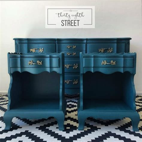 painted bedroom furniture sets 1000 ideas about teal dresser on dressers