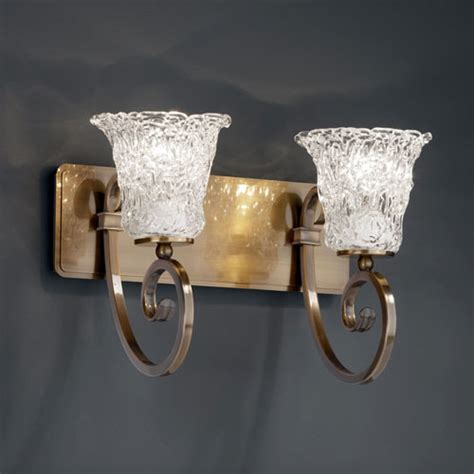 antique brass bathroom light fixtures veneto luce two light antique brass bath fixture
