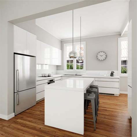 modern white kitchen design best 25 modern white kitchens ideas on modern