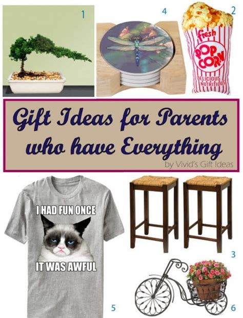 unique gifts for parents unique gift ideas for parents who everything s
