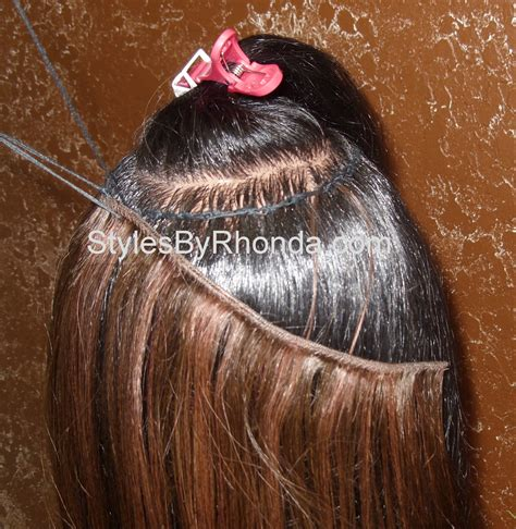 what hair is used for braidless sew in braidless sewin