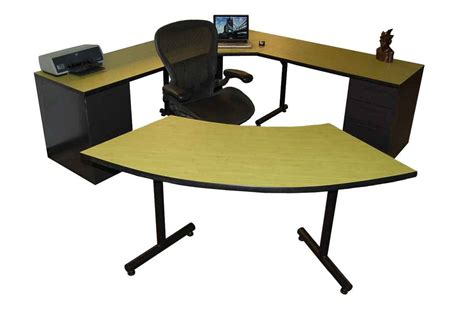 second computer desk used office desk furniture buying guide office architect