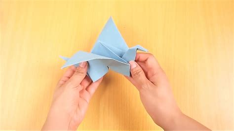 origami flying bird how to make an origami flying bird wikihow
