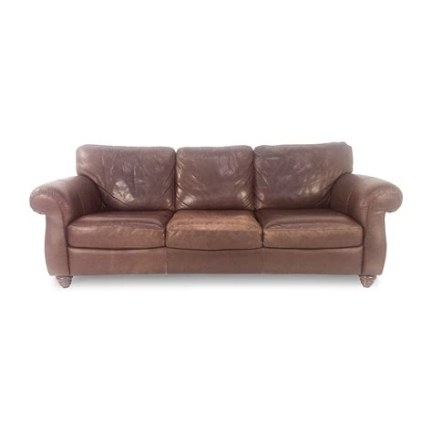 second leather sofas 28 images second brown leather