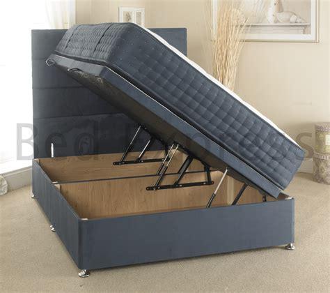 single ottoman storage bed luxury ottoman divan storage bed single king size