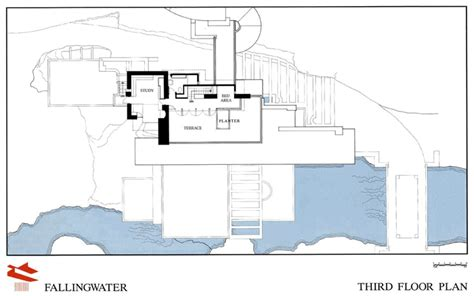 falling water floor plans fallingwater drawings and plans fallingwater