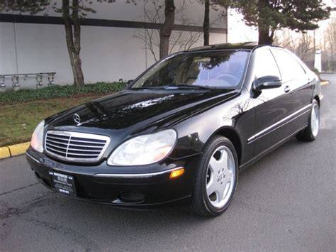 2000 Mercedes S500 by 2000 Mercedes S500 Sedan Lwb Navigation Records Amg