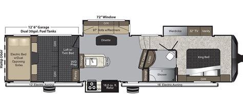 raptor rv floor plans keystone raptor floor plans gurus floor