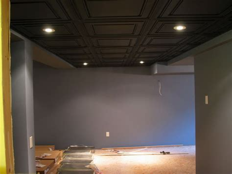 spray painting unfinished basement ceiling unfinished basement ceiling ideas home design ideas