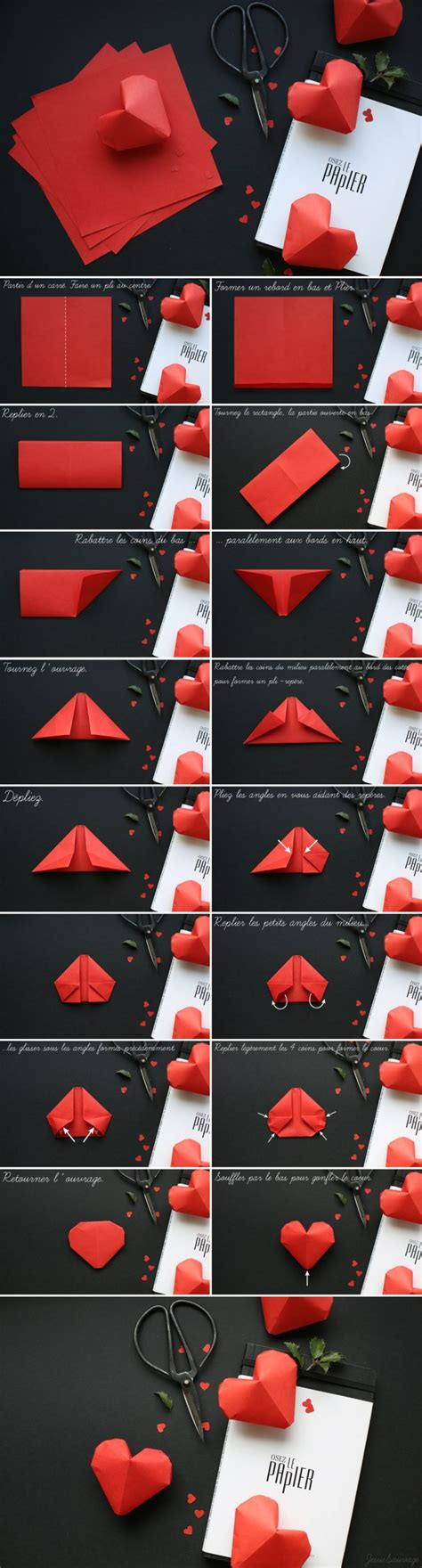 3d hearts origami how to fold lovely origami hearts how to