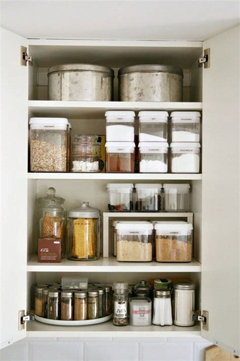 storage containers for kitchen cabinets 15 beautifully organized kitchen cabinets and tips we