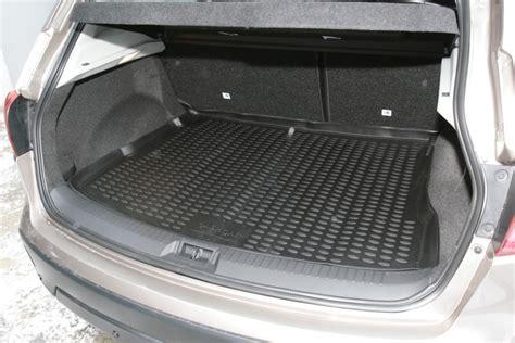 tapis de coffre caoutchouc premium peugeot 207