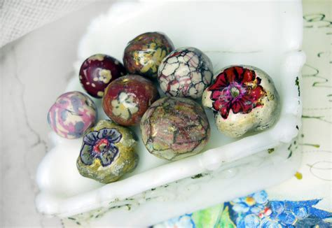 paper clay jewelry polymer paper clay 8 rustic by