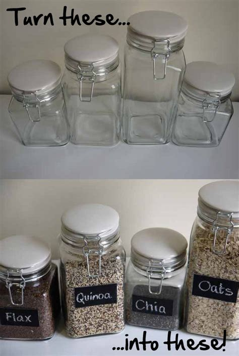 chalkboard jars diy 1000 images about jars on jars