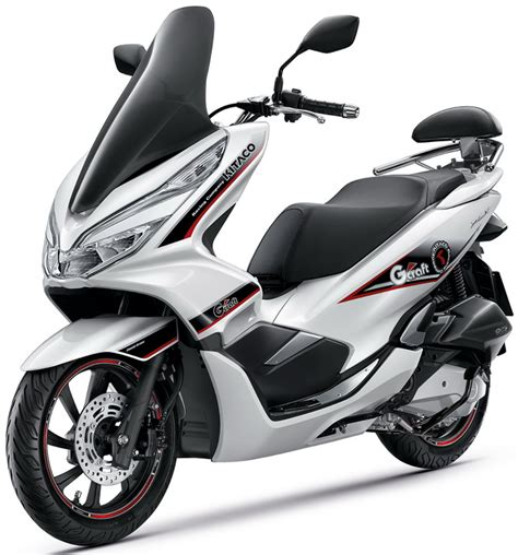 Pcx 2018 Putih Modifikasi pilihan warna all new honda pcx150 2018 indonesia
