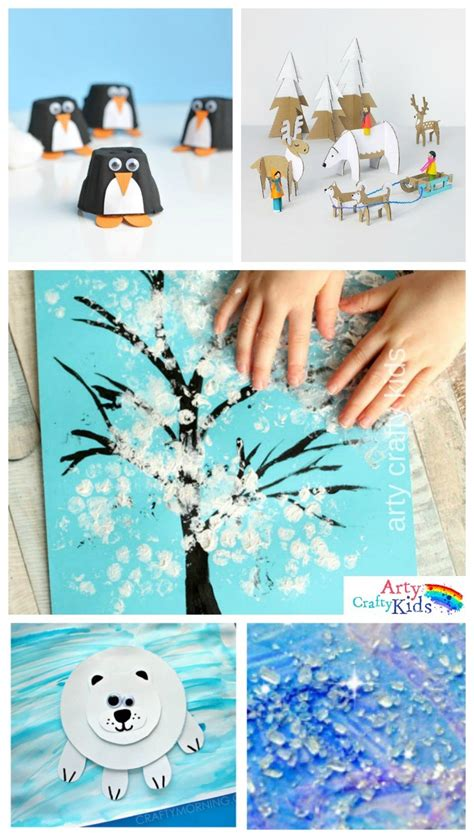 seasonal crafts for 16 easy winter crafts for arty crafty