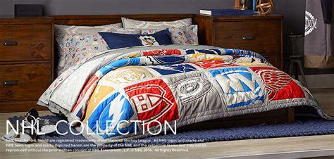 hockey comforter set hockey bedding nhl bedding pbteen