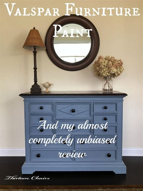 chalk paint reviews painting with valspar furniture paint thirteen chairs