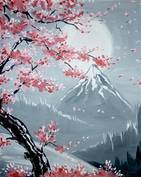 groupon paint nite island ny paint nite simi cherry blossoms