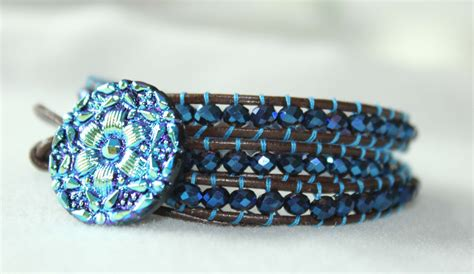 beaded wrap bracelet tutorial make a beaded and woven collar free tutorial