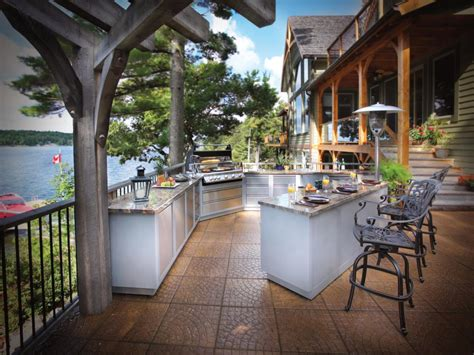 outdoor kitchens images optimizing an outdoor kitchen layout hgtv
