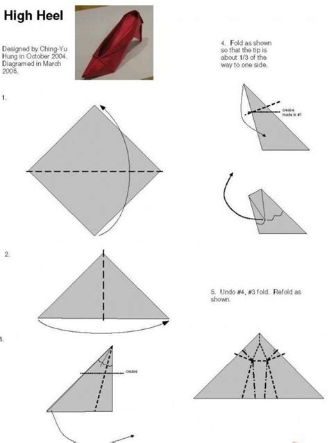 how to make origami shoes shoes origami