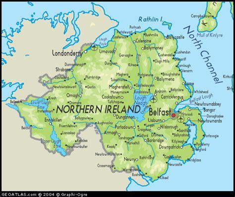 River Map Northern Ireland