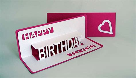 how to make a pop out birthday card card invitation design ideas pop out birthday cards
