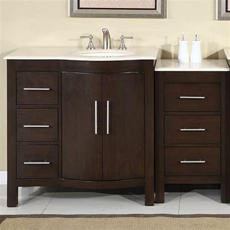 modern single bathroom vanities 53 5 inch modern single bathroom vanity uvsr0912rm53