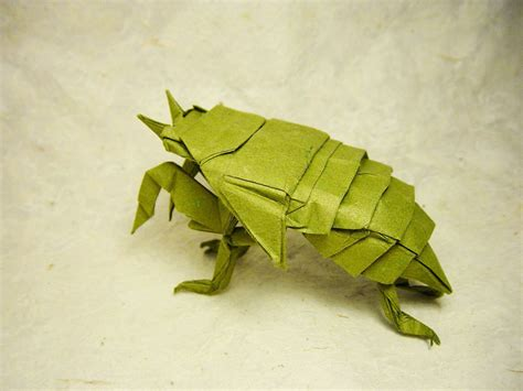 origami cicada i c ant believe how complex and realistic these origami