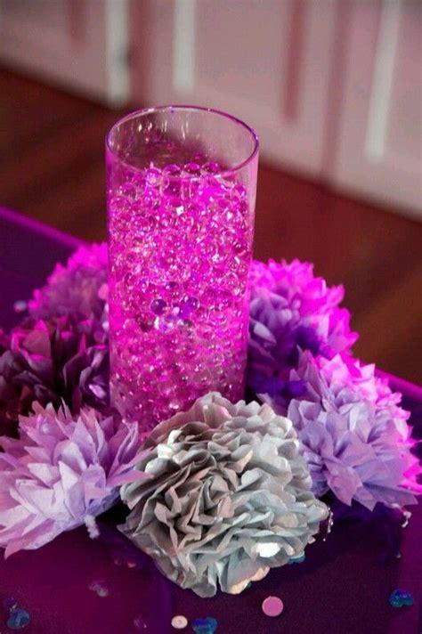 purple water centerpieces 17 best ideas about water centerpiece on