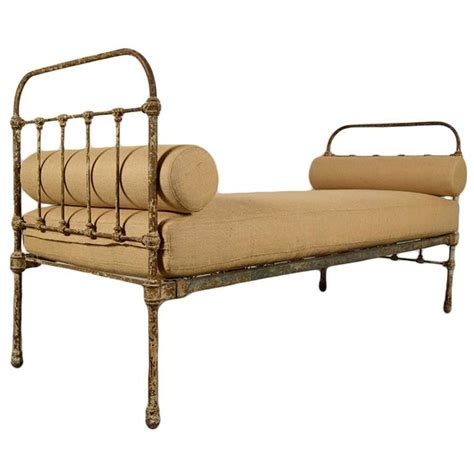 antique french iron frame daybed for sale at 1stdibs