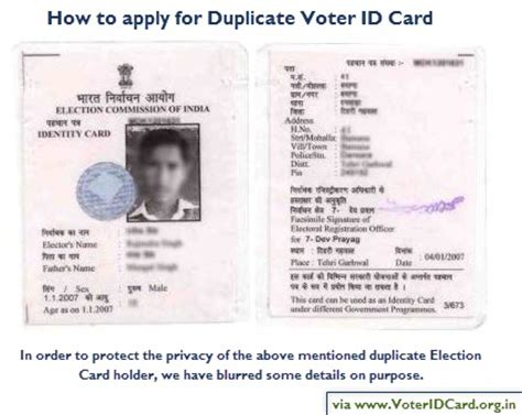 make a voter id card duplicate voter id card here is how to apply for it