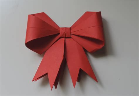 ribbon origami how to make a paper bow ribbon hd