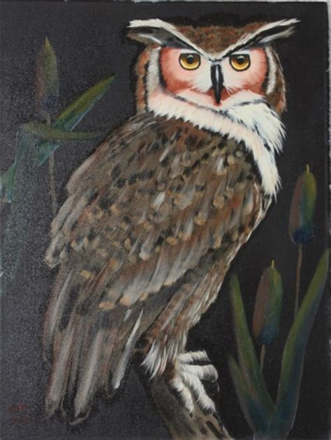 bob ross painting wildlife aintings of owls images frompo 1
