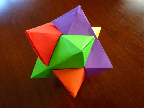 origami puzzle 488 burr puzzle setting the crease