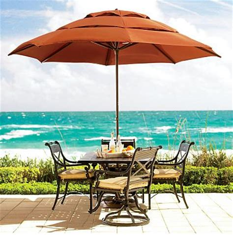 frontgate patio umbrellas patio umbrellas and outdoor parasols best picks for 2008