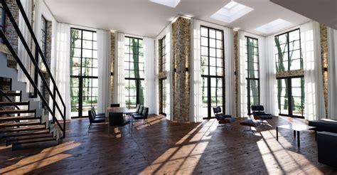 loft industrial industrial loft interior indigo renderer