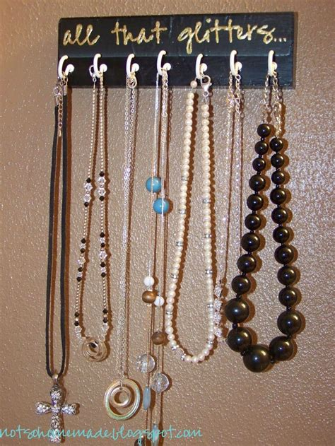 make a jewelry holder easy to make necklace holder awesome ideas