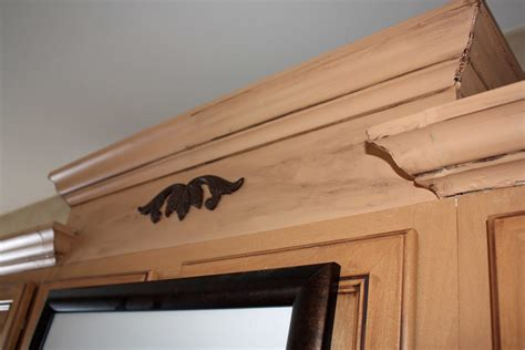 transforming home how to add crown molding to kitchen
