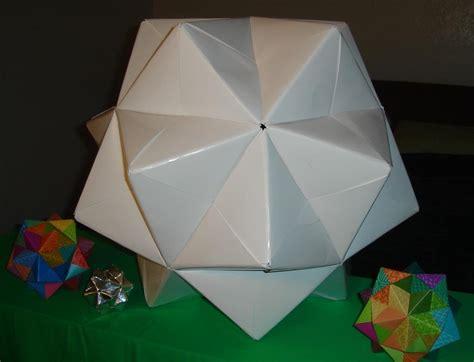 modular origami sonobe sonobe modular 171 math craft wonderhowto