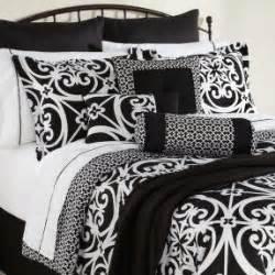 white and black bed sets blue and black damask bedding foter