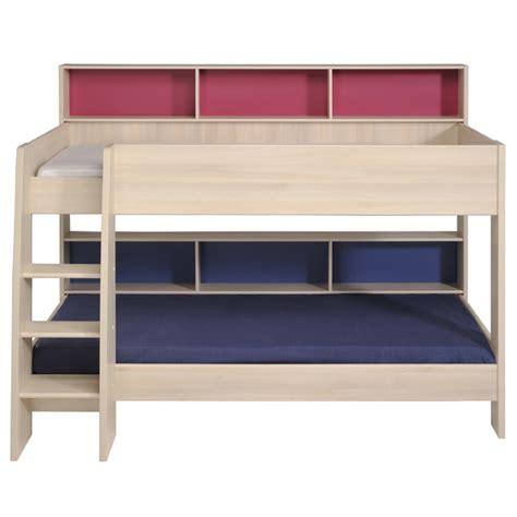 bunk bed light tam tam bunk bed light acacia with free mattress