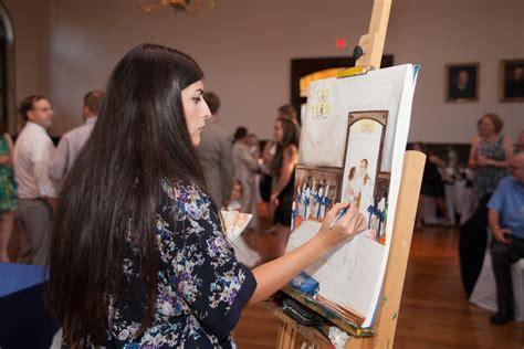 live painting live painting the swink wedding iamnotmaggie