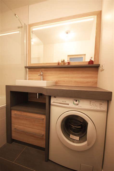 un lave linge dans une salle de bain atlantic bain