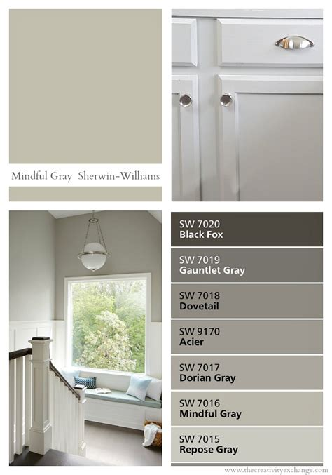 best gray paint colors sherwin williams sherwin williams mindful gray color spotlight
