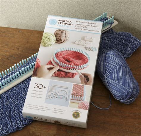 martha stewart crafts knit weave loom kit craft warehouse